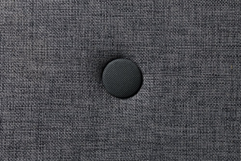 by KlipKlap blue grey w. grey button