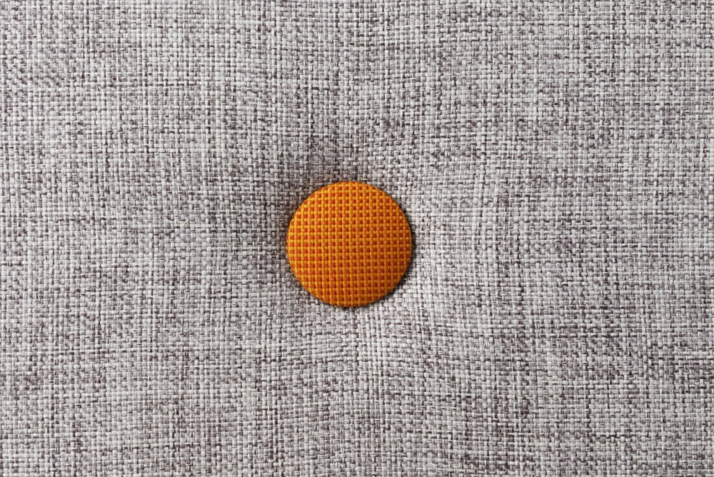 by KlipKlap Multigrey w. orange button
